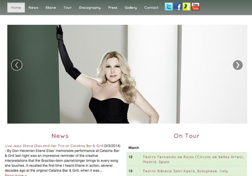 Eliane Elias Website
